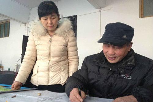 户县农民画艺术家的中国梦 淳朴作画 善良做人